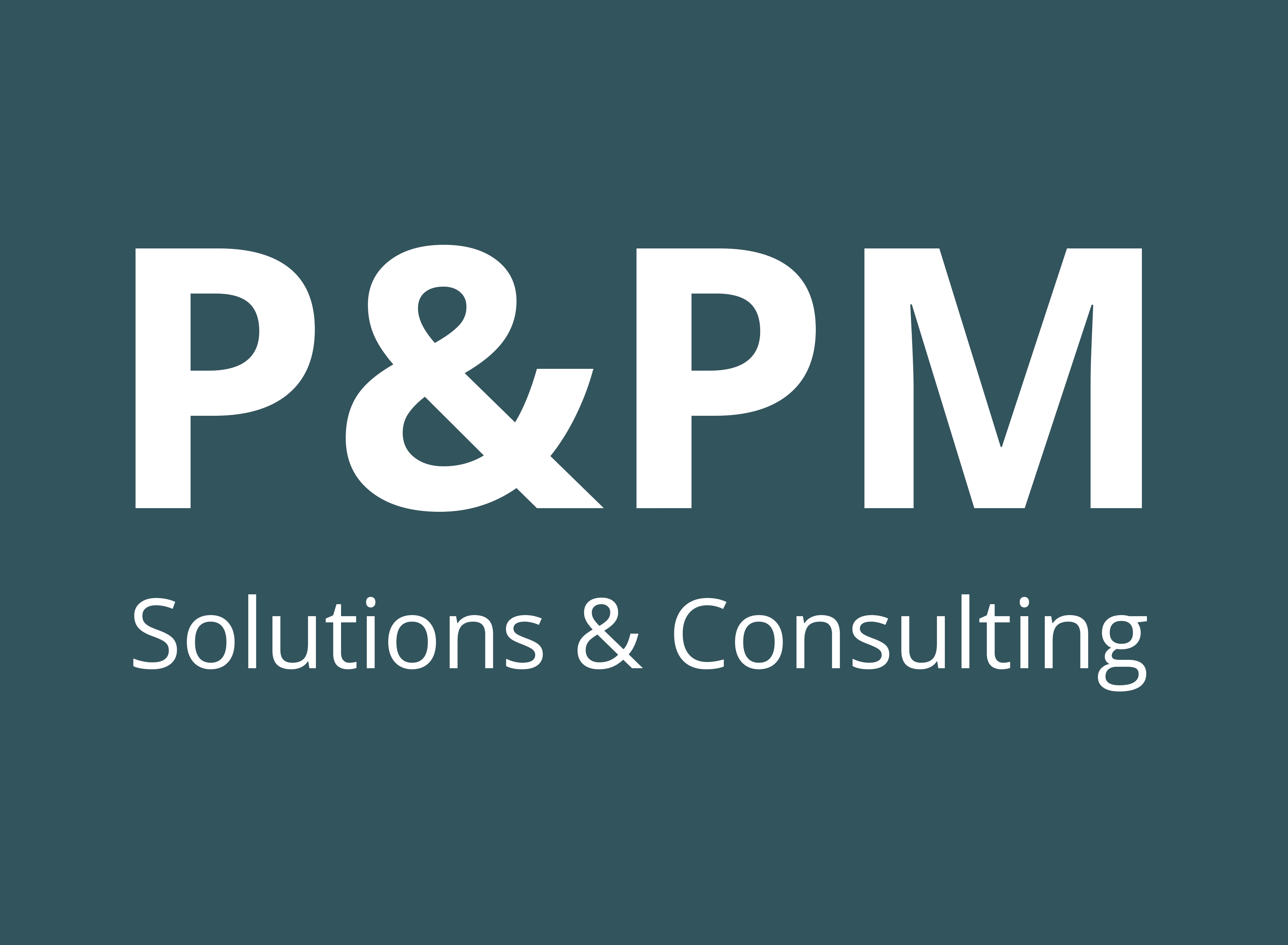 P&PM Solutions & Consulting GmbH