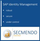 SAP IdM-Monitoring as a Service